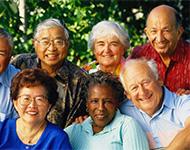 Social groups for seniors