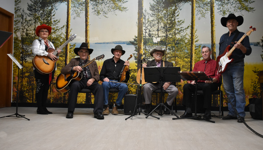 St. George's Senior Country Band, John finalist for Grand Old Opry Zoomer Style