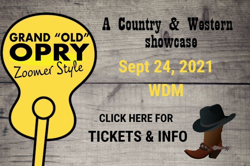 Grand Old Opry - A country and western showcase and fundraiser