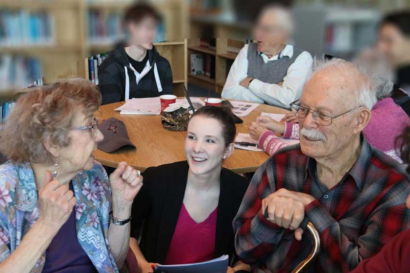 Seniors Tech Buddy Program