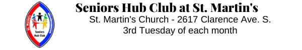 Seniors Hub Club at St. Martins