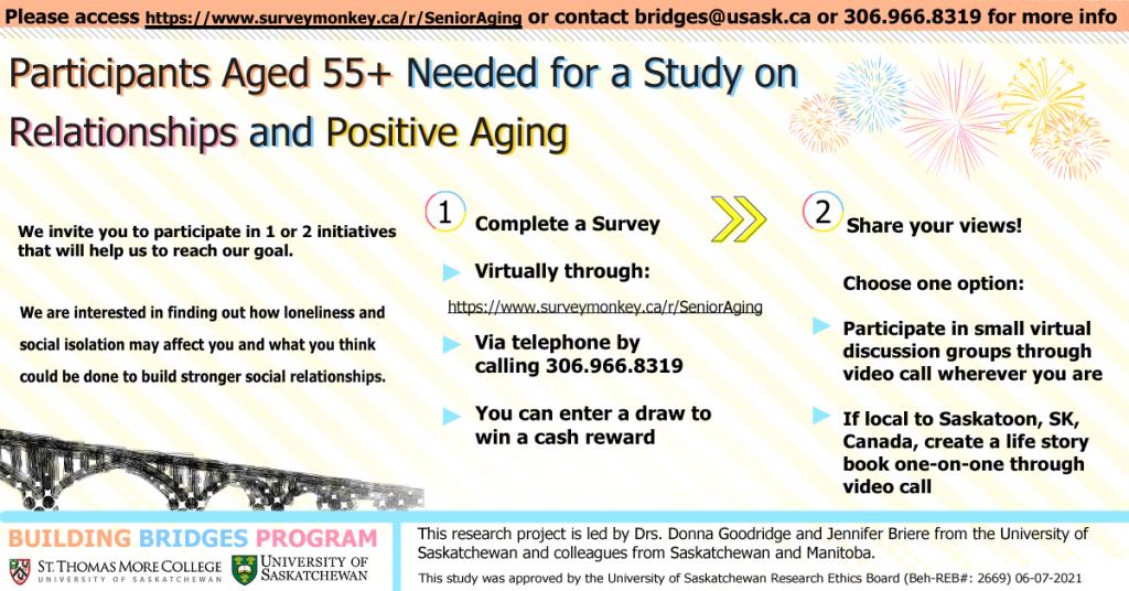 Building Bridges to Positive Aging Among Seniors